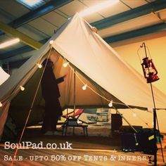 We love this. There's a nice pre-season sale at SoulPad.co.uk just now. #camping #lovesoulpad #soulpad #belltent #glamping #glamp #outdoors #sale #bargain