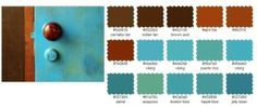 Color palette - turquoise by nakiaroche