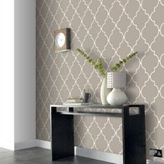 lov actually buying this wallpaper from Lowes this weekend! So weird that I just came across it on @Melanie Bauer Bauer Hughes pinterest board :)