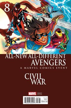 Preview: ALL-NEW, ALL-DIFFERENT AVENGERS #8 - Comic Vine