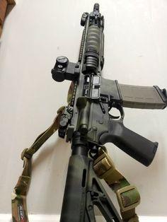 Love it! Guns
