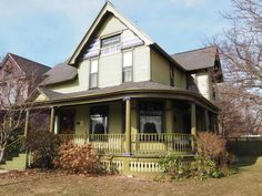 BEAUTIFUL ONE OF A KIND HISTORICAL HOME! Located in the downtown historic district, this home features 5 bedrooms, 2 1