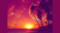 ocean,sunset sunset ocean beach moon palm trees wallpaper – ocean,sunset sunset ocean beach moon palm trees wallpaper – Oceans Wallpaper – Desktop Wallpaper on Wookmark Sunset Wallpaper, Landscape Wallpaper, Cool Wallpaper, Wallpaper Backgrounds, Tropical Wallpaper, Macbook Wallpaper, Wallpaper Space, Wallpaper Designs, Wallpaper Ideas