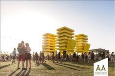 As melhores instalações arquitetônicas do Coachella 2016