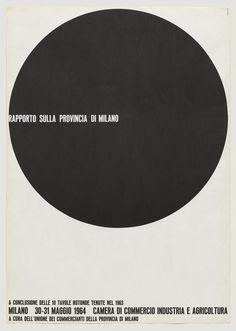 AG Fronzoni, Rapporto sulla Provincia di Milano, 1964