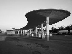Latvian Post-War Modernist Architecture, Type project for gas station (1965)