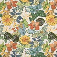#Floral fabric