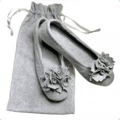 """Slipper """"Pampuschen"""" Ballerina Grace Cutest Balerina shoes ever!"""