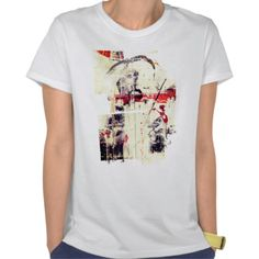 Faust mixed media black and white red tee shirts http://www.zazzle.com/zzl_606857912857571/clothing