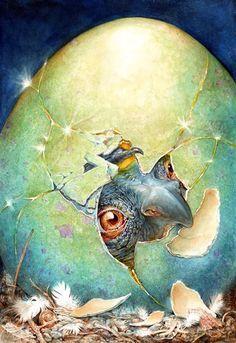 Omar Rayyan. Illustrations ~ Blog of an Art Admirer