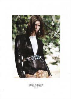 Manon Leloup for Balmain Spring Summer 2013