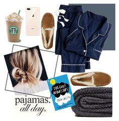 LAZY DAY - DO NOT DISTURB by arielalcantar on Polyvore featuring polyvore, fashion, style, J.Crew, UGG, Zara Home, clothing and LovelyLoungewear