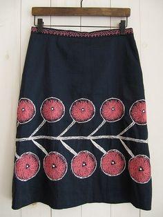 twins スカート/買取実績/ミナペルホネン古着買取専門店ドロップ[drop]  love the skirt fabric