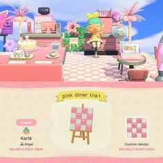 Animal Crossing 3ds, Animal Crossing Villagers, Animal Crossing Qr Codes Clothes, Pink Animals, Cute Animals, Towel Animals, Pink Island, Pink Cafe, Ac New Leaf