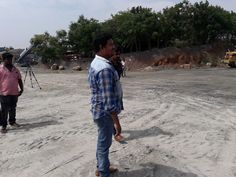 RS Enterprise Industrial #Photo_Shoot done by BCC Marcom. Our Managing Director #Raj at #shooting #Spot