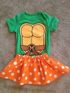 Halloween costume turtle green dress up skirt Pumpkin Black Cat Disney Birthday baby Girl witch tutu Size 6-9 12 18 months  on Etsy, $29.50