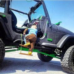 My kids will definitely need this cause my dream car is a 4 door jeep