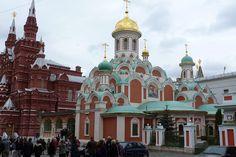Edificios en el Kremlin, en Moscú.