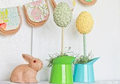 Spring egg topiary » Lolly Jane