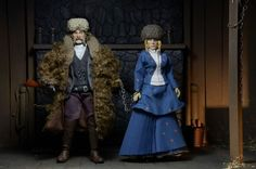 Hateful Eight Retro Action Figures Are Gritty Throwbacks To A Better Time (For Toys) -  #NECA #tarantino