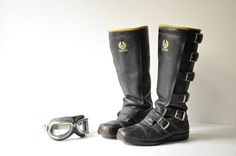 Awesome pair of Belstaff Motorcycle Boots