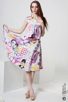 Projektant Gabriela Hezner   fotograf  Tomasz Ciesielski  Modelka - Basia Wawryń Fashion by Polscy Projektanci.com - zakupy, które Cię wyróżnią.