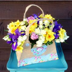 """Springburst"" handbag www.thepetalboutique.co.uk"