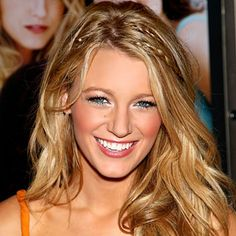 Long Blake Lively Hairstyles