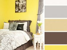 16 Best Color Combos to Spice Up Your Bedroom Decor Bedroom Color Combination, Bedroom Colour Palette, Bedroom Color Schemes, Bedroom Colors, Good Color Combinations, Color Combos, Living Room Decor, Bedroom Decor, Beautiful Bedrooms