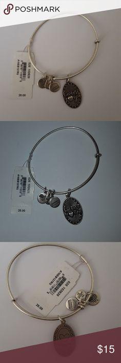 Alex and Ani because I love you silver bracelet Alex and Ani because I love you silver bracelet Alex and Ani Jewelry Bracelets
