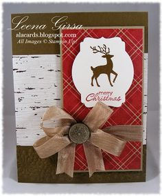 A La Cards: Warmth and Wonder hostess set from Stampin' Up!
