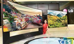#CES2014 LG presenta dos nuevos TV 4K