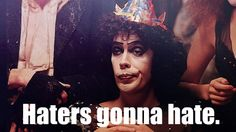 Dr. Frankenfurter is one of my baseline style inspirations. Dress up, show up, let them burn in disapproval and self-righteousness...