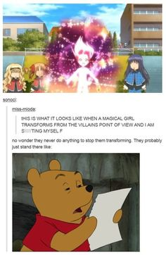 Meanwhile, At Some Anime Character Transformation Scene...