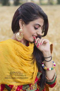 punjabi suit, orange, red, yellow, farm, khet, kudi, punjabi mutiyar, pranda, lambi gut, wonderfull girl, mskjewel photography, bangles, outdoor photography, portfolio, portraits, shyness