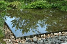 stone infinity pool