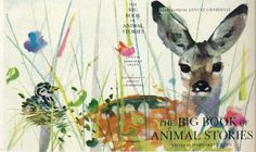 Janusz Grabiański - Cover illustrations for Margaret Green's 'Big Book of Animal Stories' Animal Books, Kids Lighting, Children's Book Illustration, Book Illustrations, Animal Sketches, Cover Art, Childrens Books, Illustrators, Photo Art