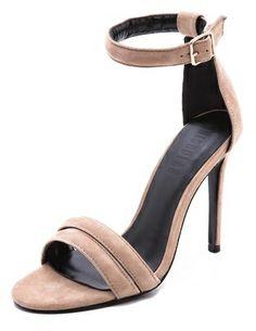 Jocelyn Nicholas Suede Sandals on shopstyle.com