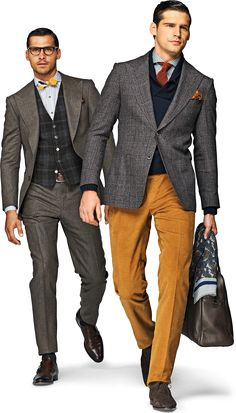 """""""Layers for fall"""" not often do I pin men's fashion. But they got it right."""