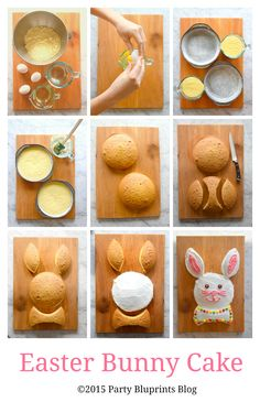 "Build the Perfect Easter Menu With These Festive Recipes ""The Mr. Bunny Cake has been a staple at our Easter celebrations for over two generations,"" says Mascali. ""Each year we'd have fun reinventing Easter Dinner, Easter Brunch, Easter Party, Bunny Party, Easter Bunny Cake, Easter Treats, Easter Food, Easter Baking Ideas, Bunny Birthday Cake"
