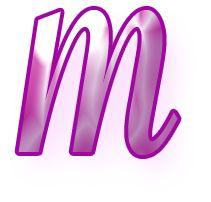 Alfabeto Decorativo: Alfabeto - Jovem - PNG