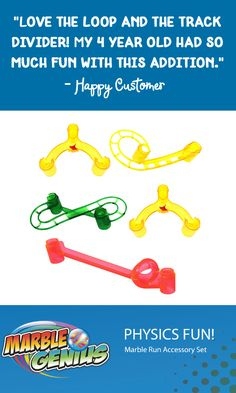 Marble Run Accessory Add-On Set Marble Genius Tubes 30 Pieces Tubes Tubes!