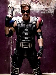 Jeffrey Dean Morgan as The Comedian in The Watchmen (2009)