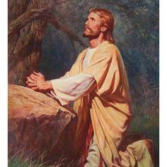 Jesus a orar