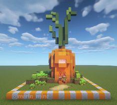 Minecraft Farm, Minecraft Mansion, Minecraft Cottage, Cute Minecraft Houses, Minecraft Plans, Minecraft Construction, Amazing Minecraft, Minecraft Blueprints, Creeper Minecraft