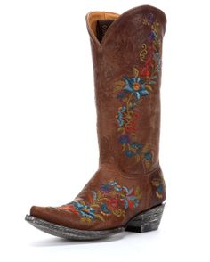 """Page 2 of Old Gringo Cowgirl Boots. Jasmine 13"""" Boot-Oryx"""