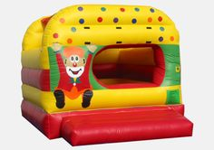 This inflatable ball pit is great for party rentals and Indoor centers.  Uses standard pit balls. (Not Included.)