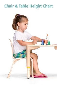 Follow these guidelines when selecting classroom tables and chairs for any age group. It comes down to a simple formula: comfort equals concentration and contentment. If children have furniture shaped to support their bodies' best posture, they can stay focused on the activity in front of them. Click to download the free PDF. Preschool Art, Kindergarten Classroom, Art Area, Classroom Setting, Good Posture, Soothing Colors, High Quality Furniture, Early Childhood Education, Things To Come