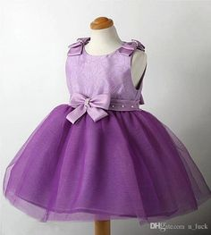 Wedding Dresses for Girls Children Kids Clothes Prom Dresses Girls Pageant Gown Dress Party Dresses for Girls Dresses Princess Purple Online with $8.38/Piece on U_luck's Store | DHgate.com#dhgatepin
