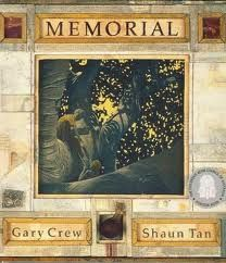 Memorial by Shaun Tan and Gary Crew; reading with BDA strategies & Inspiration software